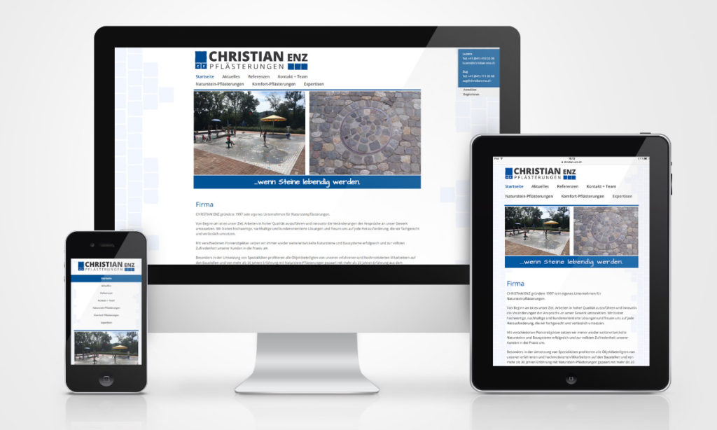 christian Enz_webdesign